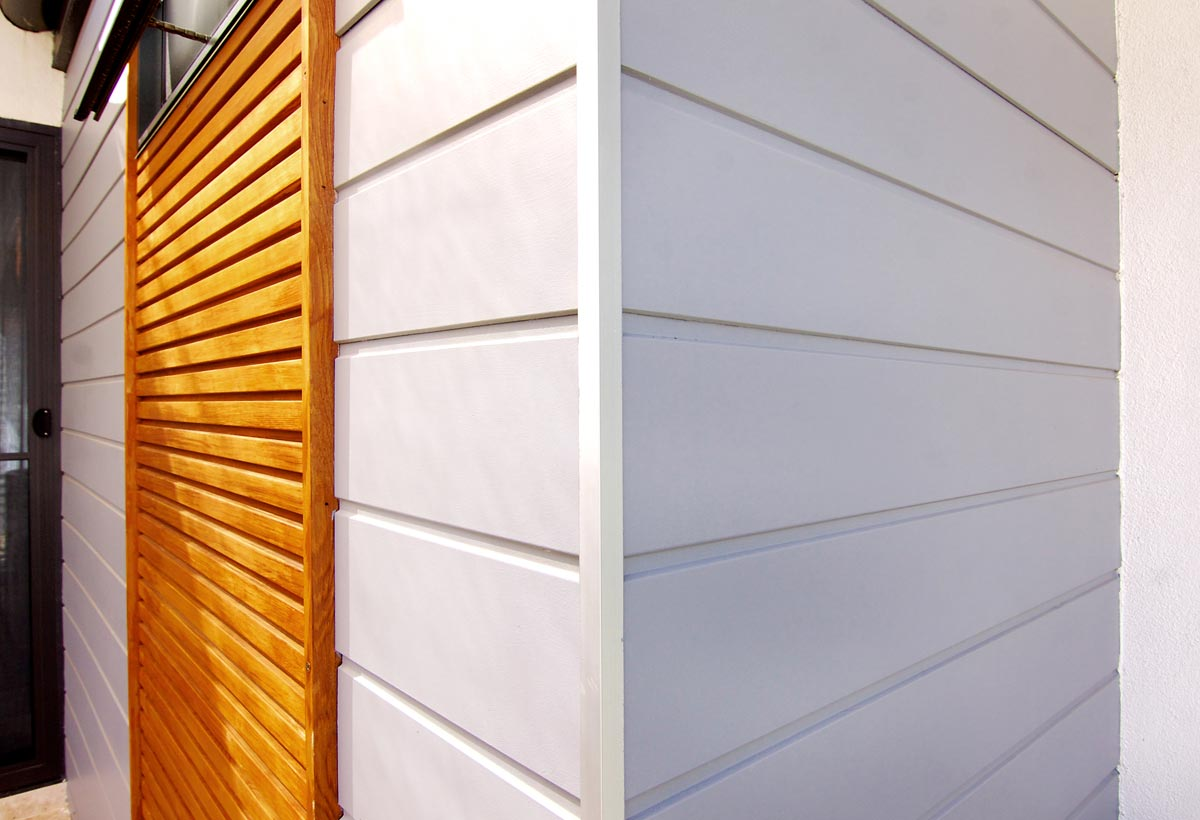 Exterior wood cladding panels images for External wall materials